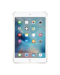 Apple iPad Mini 4 with WiFi + Cellular (Gold, 128GB, RAM 2GB)