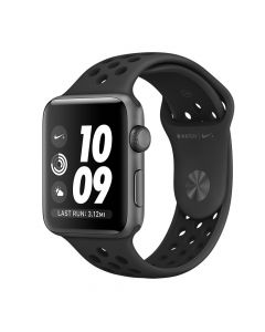 Apple Watch Nike + 38mm Aluminum case with Black Nike Sport Band