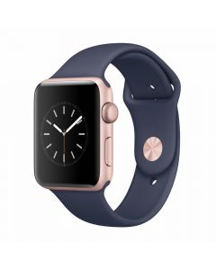 Apple Watch Series 2 42mm Rose Gold Aluminum Case (Pink Sand Sport Band)