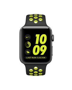 Apple Watch Series 2 Nike+ 38mm Space Gray Aluminium Case (Black/Volt Nike Sport Band)