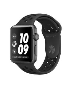 Apple Watch Series 2 Nike+ 38mm Space Gray Aluminium Case (Anthracite/Black Nike Sport Band)