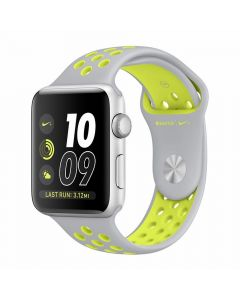 Apple Watch Series 2 Nike+ 38mm Silver Aluminium Case (Silver/Volt Nike Sport Band)