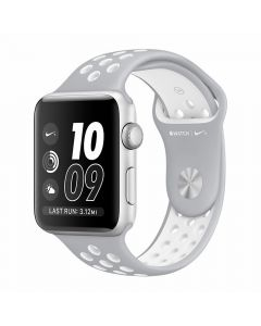 Apple Watch Series 2 Nike+ 38mm Silver Aluminium Case (Silver/White Nike Sport Band)