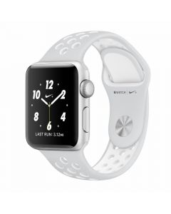 Apple Watch Series 2 Nike+ 38mm Silver Aluminium Case (White Nike Sport Band)