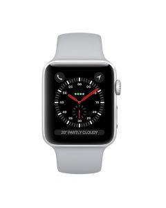 Apple Watch Series 3 38mm Silver Aluminium Case GPS (Fog Sport Band)